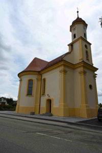 Schutzengelfest: Neunheim, im Hof der Familie Reeb @ Hof der Familie Reeb gegenüber Schutzengelkapelle